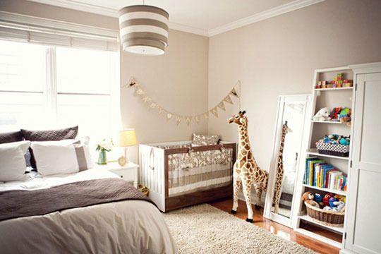 como organizar um quarto de bebe junto com o dos pais