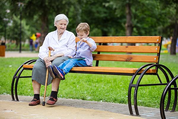 convivência entre avós e netos